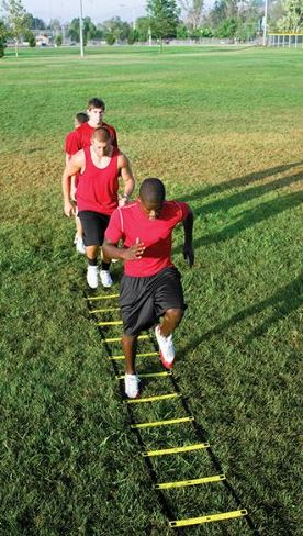 Agility ladder training for kids