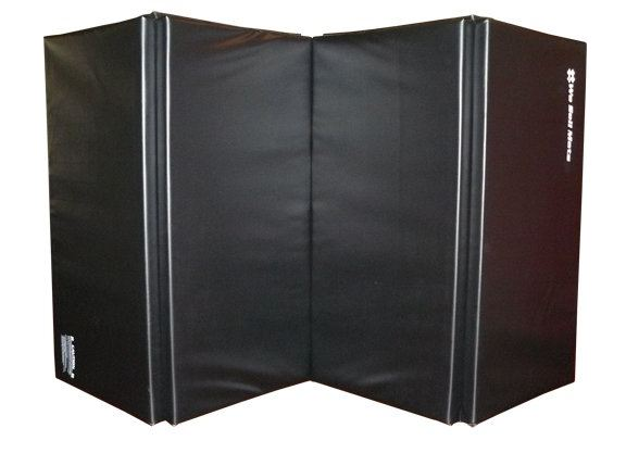 black gymnastics and martial arts mats