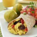 breakfast burrito, kids cooking