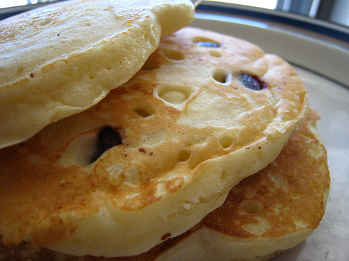 chocolate chip pancakes for kids
