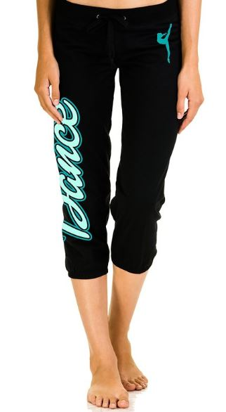 Dance capris for girls
