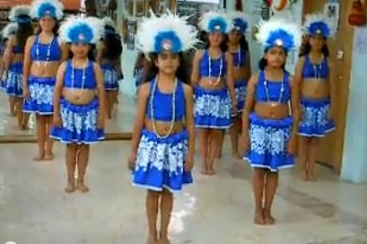 French Polynesian dance steps for kids