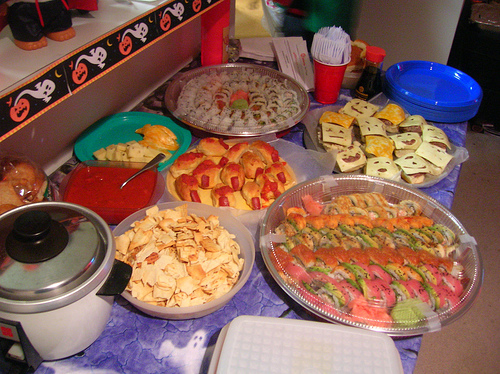 Fun party food for kids for Halloween party food ideas for kids
