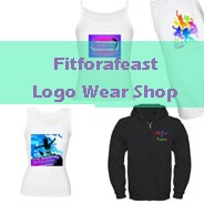 Fitforafeast logo wear clothes