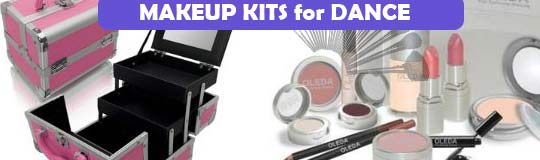 Makeup kits for dance